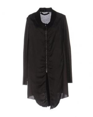 Короткое платье NICOLAS & MARK. Цвет: темно-коричневый