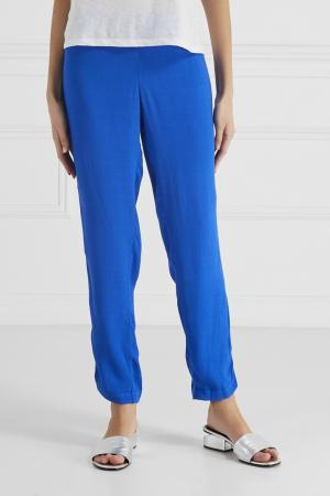 Однотонные брюки Princesse Tam-Tam. Цвет: синий