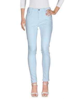 Джинсовые брюки CIMARRON. Цвет: небесно-голубой