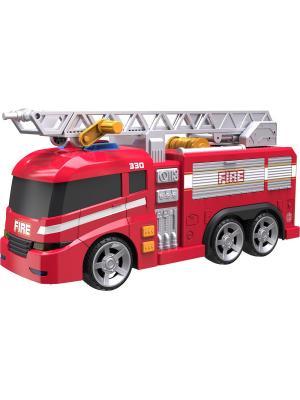 Машинка Roadsterz Пожарная машина со светом и звуком HTI. Цвет: красный