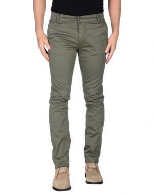 Повседневные брюки X-CAPE. Цвет: темно-зеленый