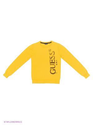 Свитер GUESS. Цвет: желтый