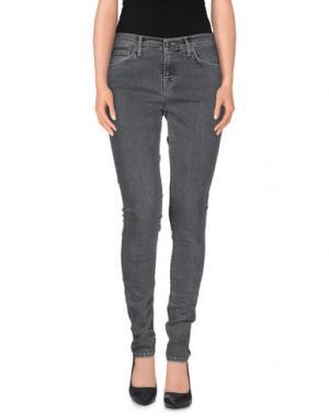 Джинсовые брюки EDWIN. Цвет: серый