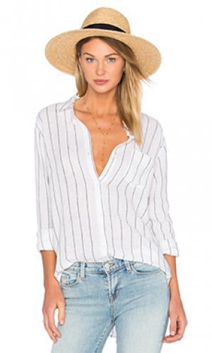 Рубашка на пуговицах charli Rails. Цвет: белый
