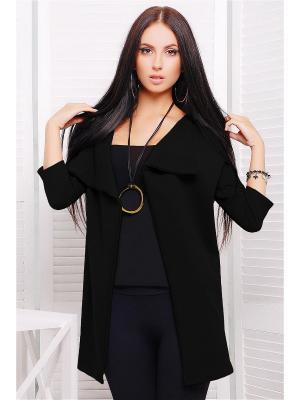 Кардиган Fashion Up. Цвет: черный