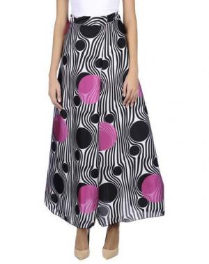Длинная юбка JIJIL. Цвет: черный