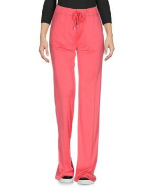 Повседневные брюки CAPOBIANCO. Цвет: коралловый