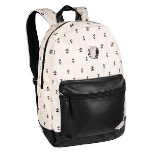 Рюкзак городской  Personal Off Black Billabong. Цвет: черный,бежевый