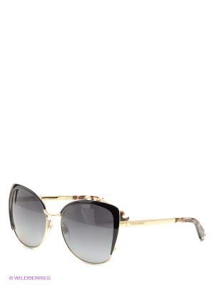 Очки солнцезащитные DOLCE & GABBANA. Цвет: темно-коричневый