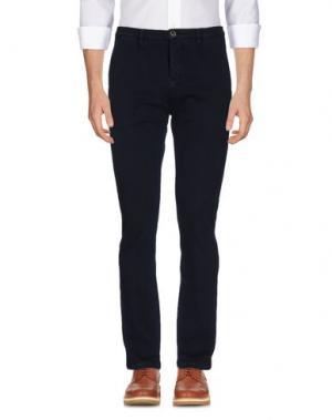 Повседневные брюки FRADI. Цвет: темно-синий