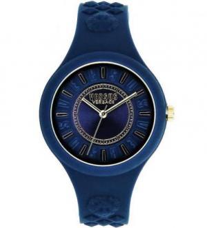 Часы круглой формы с силиконовым ремешком VERSUS