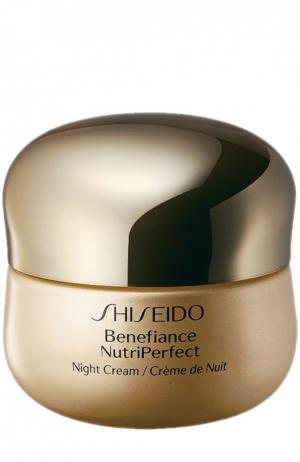 Ночной крем NutriPerfect Shiseido. Цвет: бесцветный