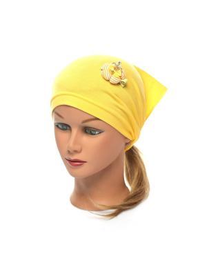 Косынка Jane Flo. Цвет: желтый