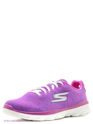 Кроссовки SKECHERS. Цвет: фиолетовый