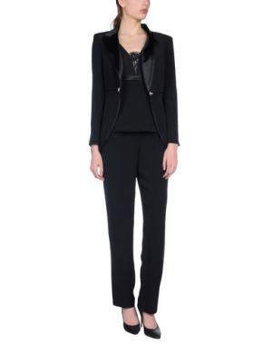 Классический костюм MUSANI COUTURE. Цвет: черный