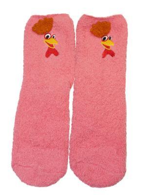 Носки махровые HOBBY LINE. Цвет: розовый