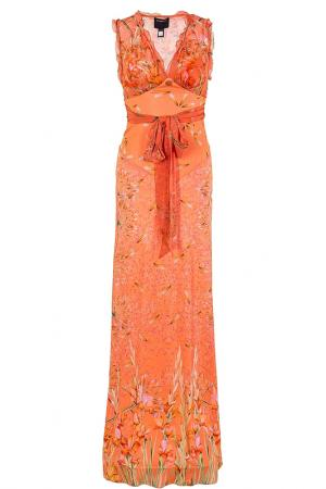 Платье Class Cavalli. Цвет: оранжевый