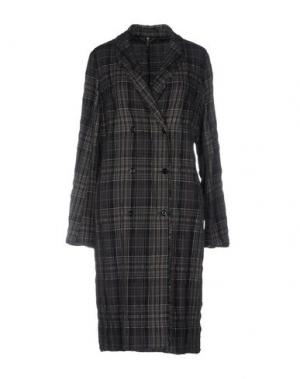 Легкое пальто MANILA GRACE. Цвет: голубиный серый
