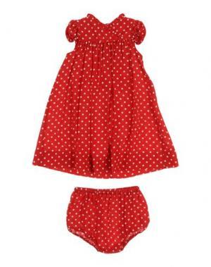 Платье LA STUPENDERIA. Цвет: красный