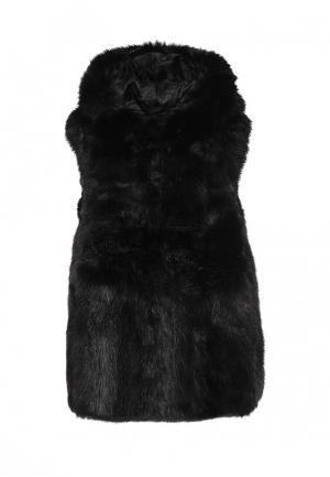Жилет меховой Lian Zhu. Цвет: черный