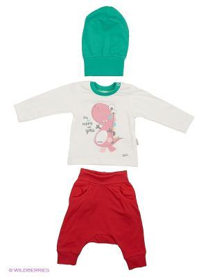 Костюм для малышей WO&GO. Цвет: белый, красный