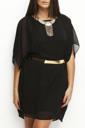 Платье CLAUDIA MILLEN. Цвет: черный