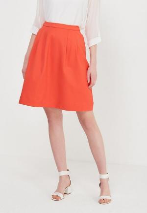 Юбка Tom Tailor. Цвет: оранжевый