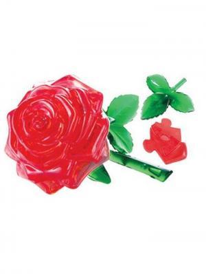 Crystal Puzzle 3D Роза L New Склад Уникальных Товаров. Цвет: красный