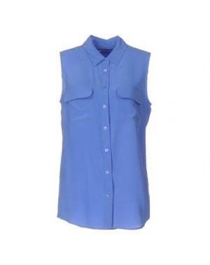 Pубашка EQUIPMENT FEMME. Цвет: пастельно-синий