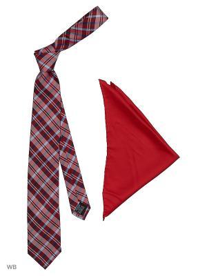 Галстук J Ploenes. Цвет: красный