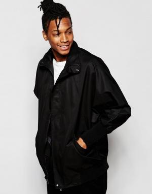 Unplugged Museum Куртка-пилот в стиле oversize. Цвет: черный