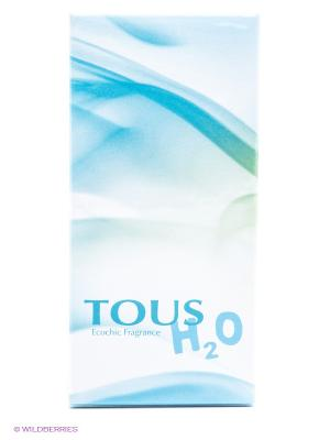 Туалетная вода, 50 мл, Tous. Цвет: голубой, белый, зеленый