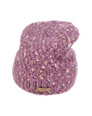 Головной убор BARTS. Цвет: пастельно-розовый