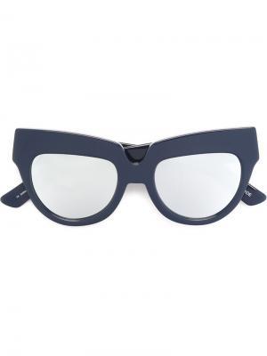 Солнцезащитные очки Scrappy House Of Holland. Цвет: синий