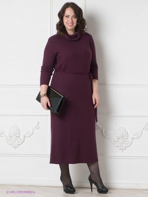 Платье Наталья Новикова. Цвет: бордовый