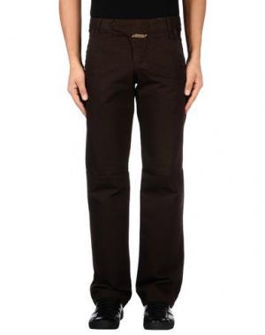 Повседневные брюки LE JEAN DE MARITHÉ + FRANÇOIS GIRBAUD. Цвет: темно-коричневый