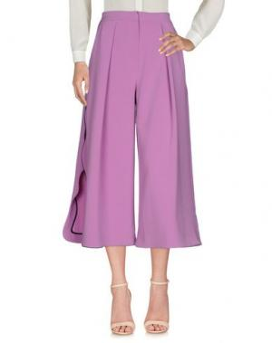 Повседневные брюки ROKSANDA. Цвет: розовый