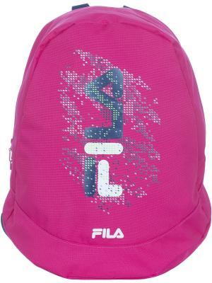 Рюкзак FILA. Цвет: малиновый