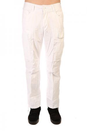 Штаны прямые  Combat Cargo Pants White Urban Classics. Цвет: белый