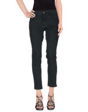 Джинсовые брюки 2W2M. Цвет: темно-зеленый
