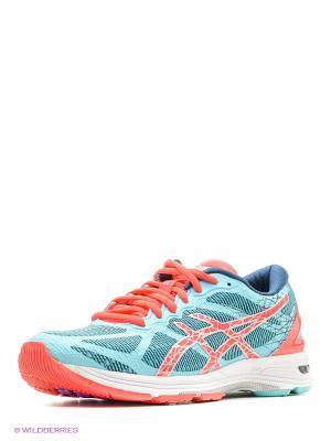 Спортивная обувь GEL-DS TRAINER 21 NC ASICS. Цвет: голубой, розовый