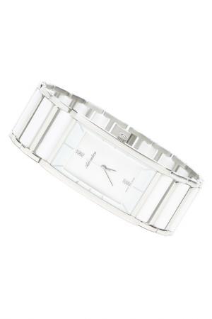 Часы наручные Adriatica. Цвет: белый, стальной