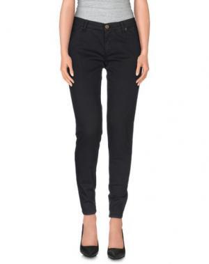 Повседневные брюки SUPERFINE. Цвет: черный