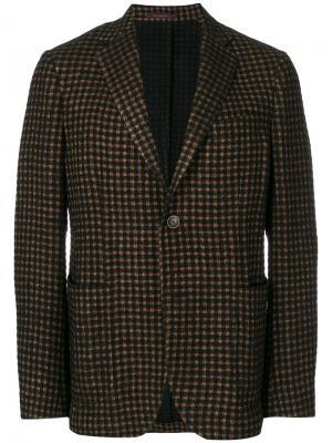 Вельветовый пиджак The Gigi. Цвет: зелёный