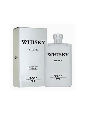 Туалетная вода Whisky Silver (Виски Сильвер) муж. 90мл EVAFLOR. Цвет: прозрачный