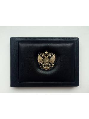 Обложка для удостоверения классик Кожевенный дворъ. Цвет: черный