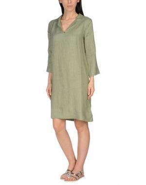 Пляжное платье SIYU. Цвет: зеленый-милитари