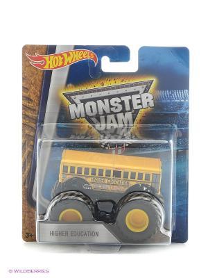 Машинки серии Monster Jam Hot Wheels. Цвет: желтый, синий, красный