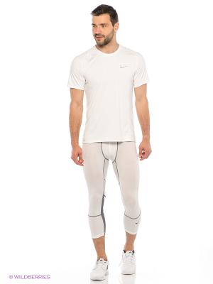 Тайтсы HYPERCOOL 3/4 TIGHT Nike. Цвет: белый