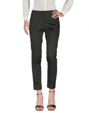 Повседневные брюки EMISPHERE. Цвет: зеленый-милитари